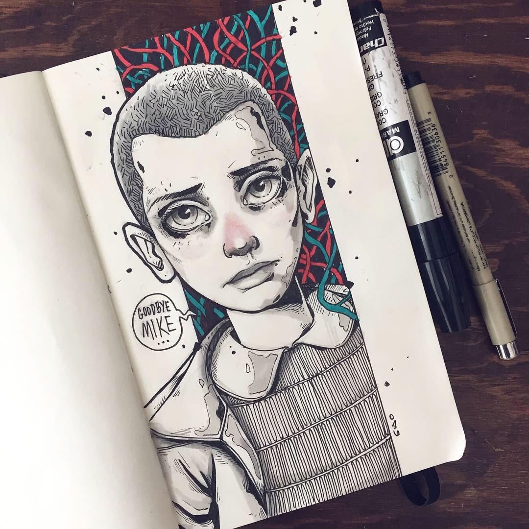 Goodbye Mike Sketch by Charringo