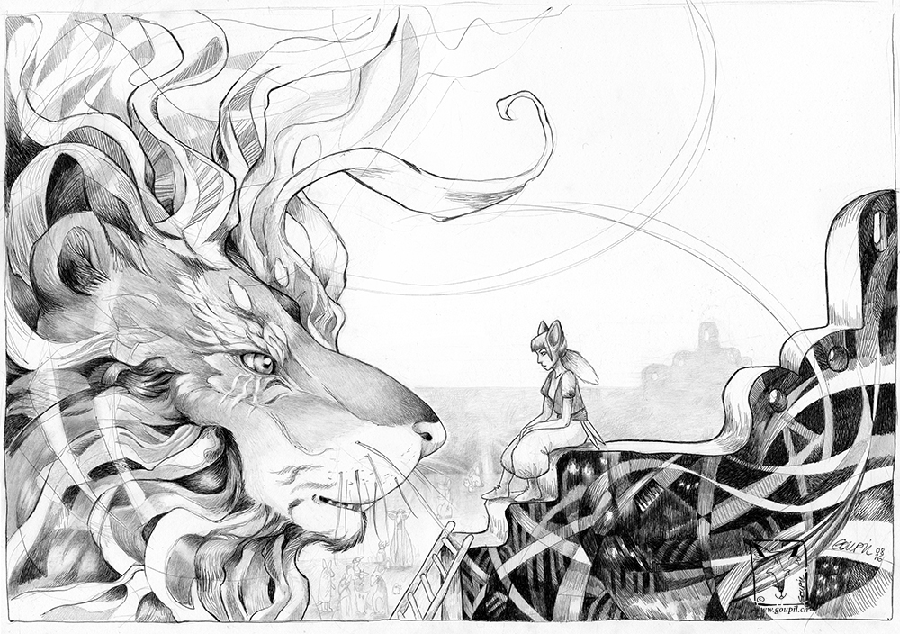 storytelling   ILLUSTRATION  legend creatures