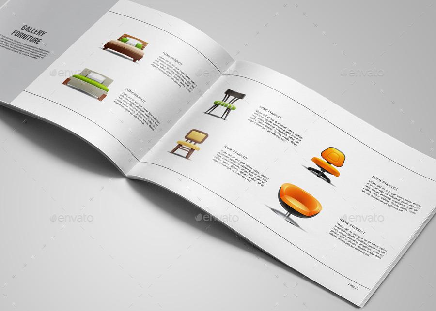 Portfolio Brochure Template On Behance