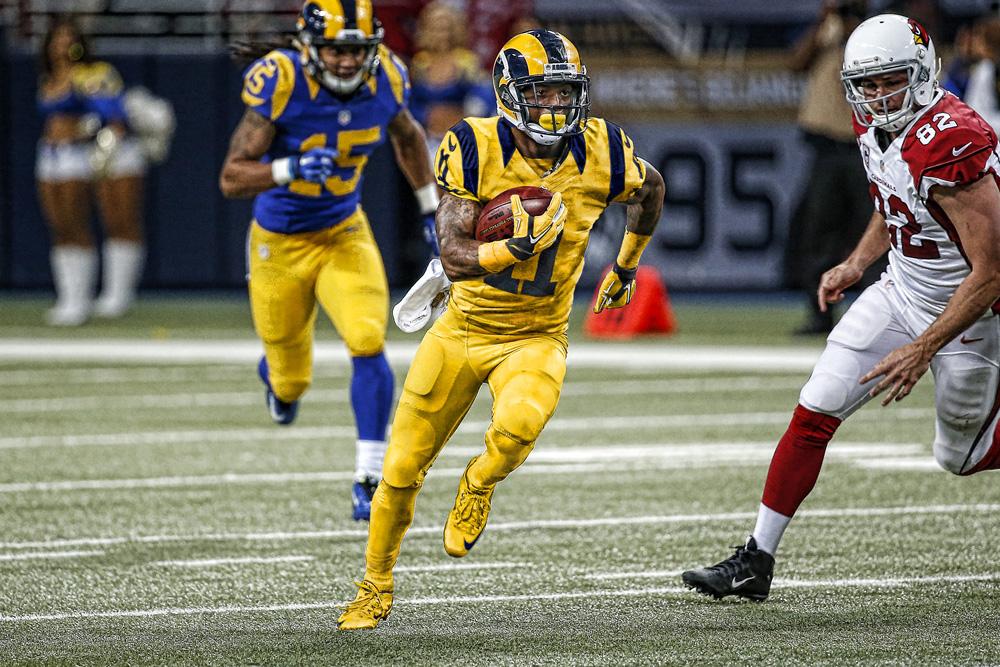 St. Louis Rams Color Rush Launch on Behance ebe4557d1