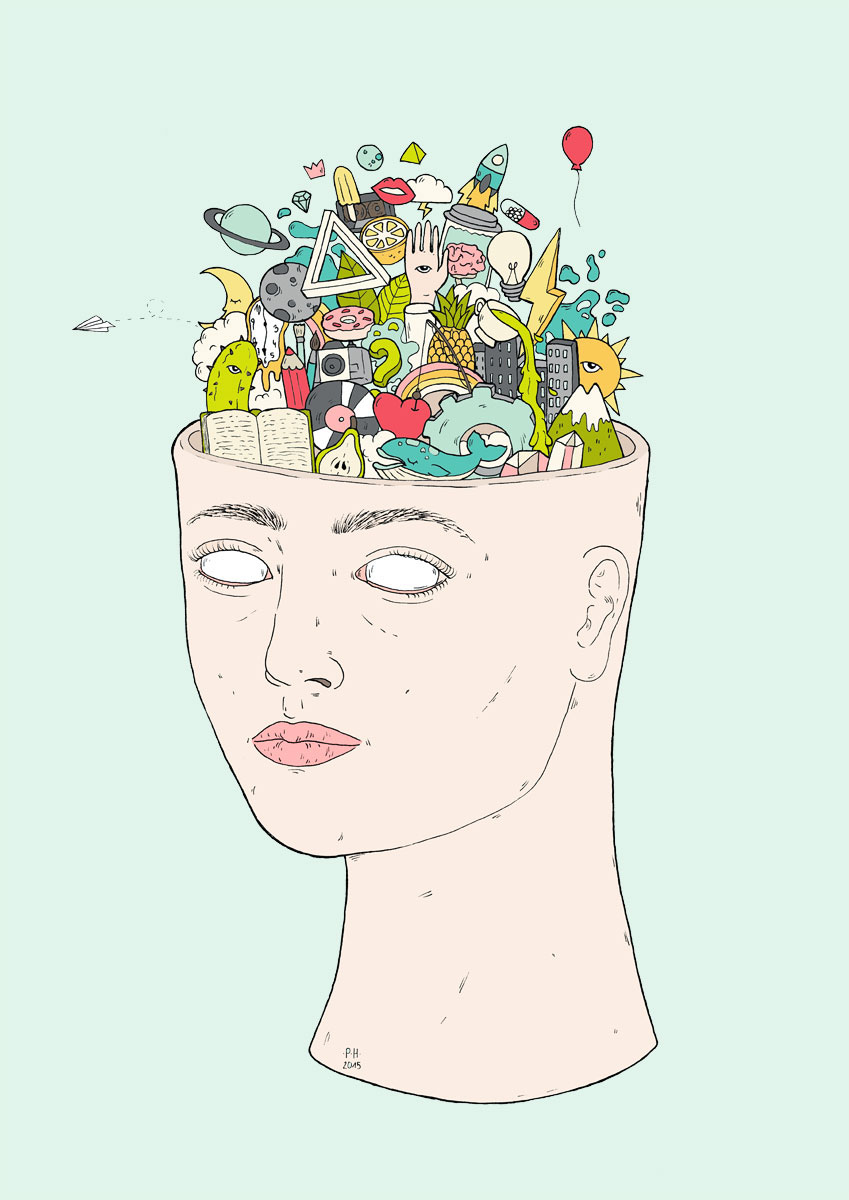 Chaotic mind head thoughts chaoticmind think