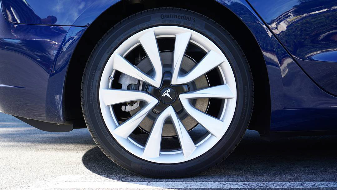Tesla Model 3   Signature Wheel Design on Behance