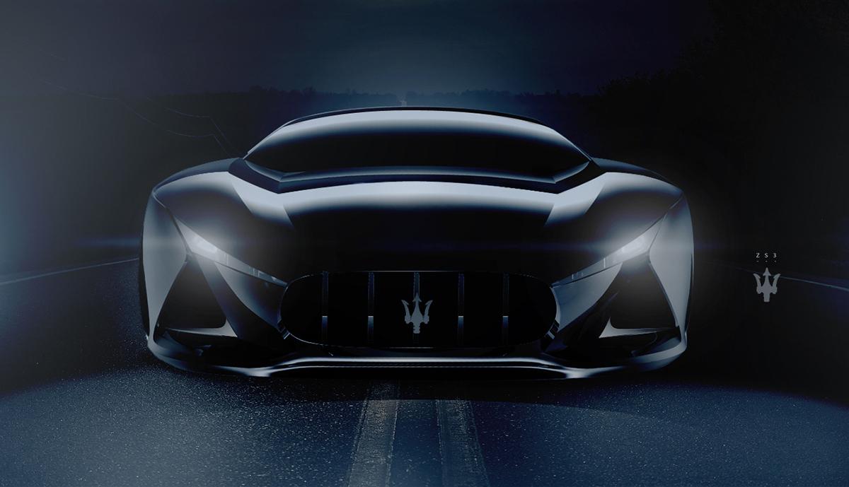 Maserati Zs3 Concept Car On Behance