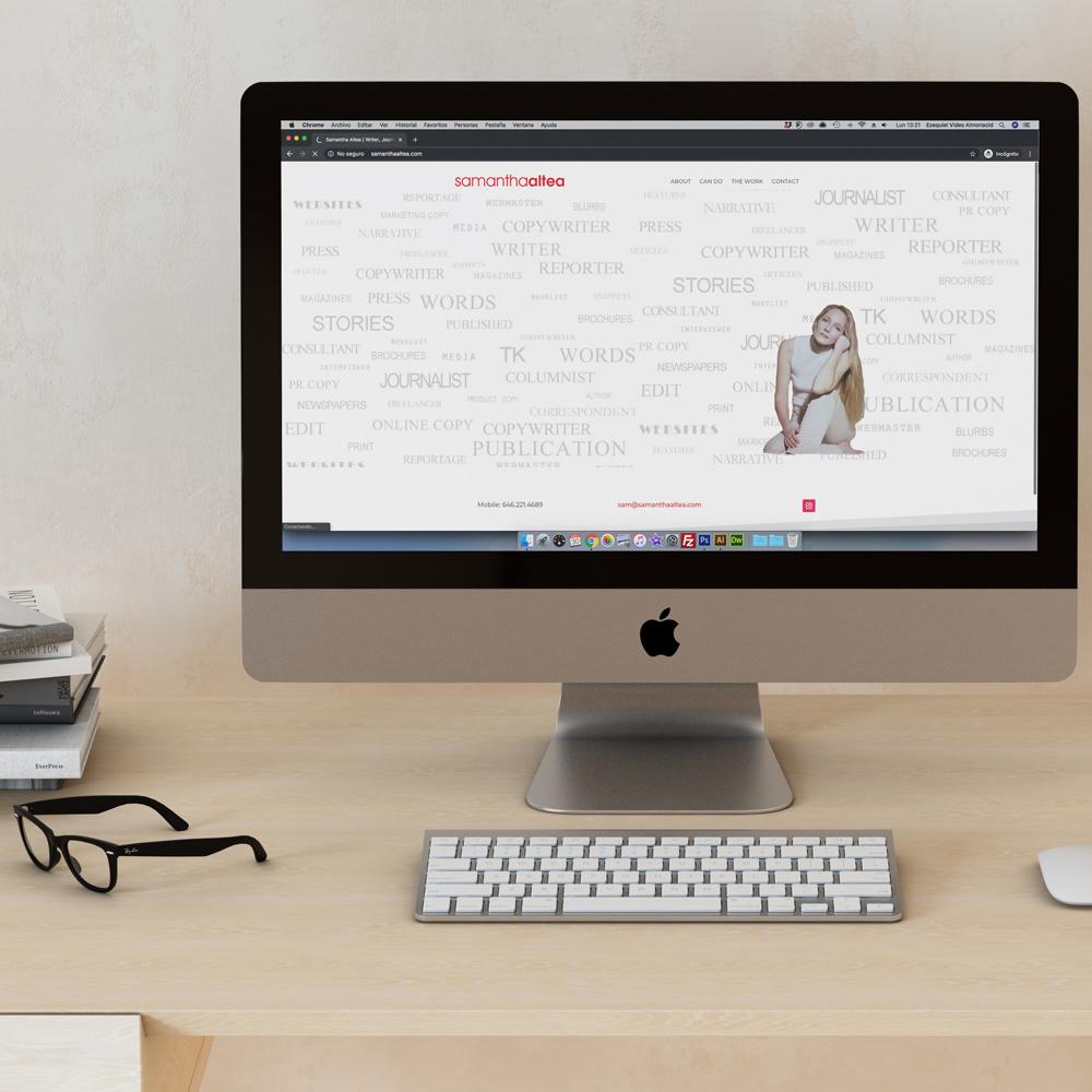 Image may contain: table, computer monitor and computer keyboard