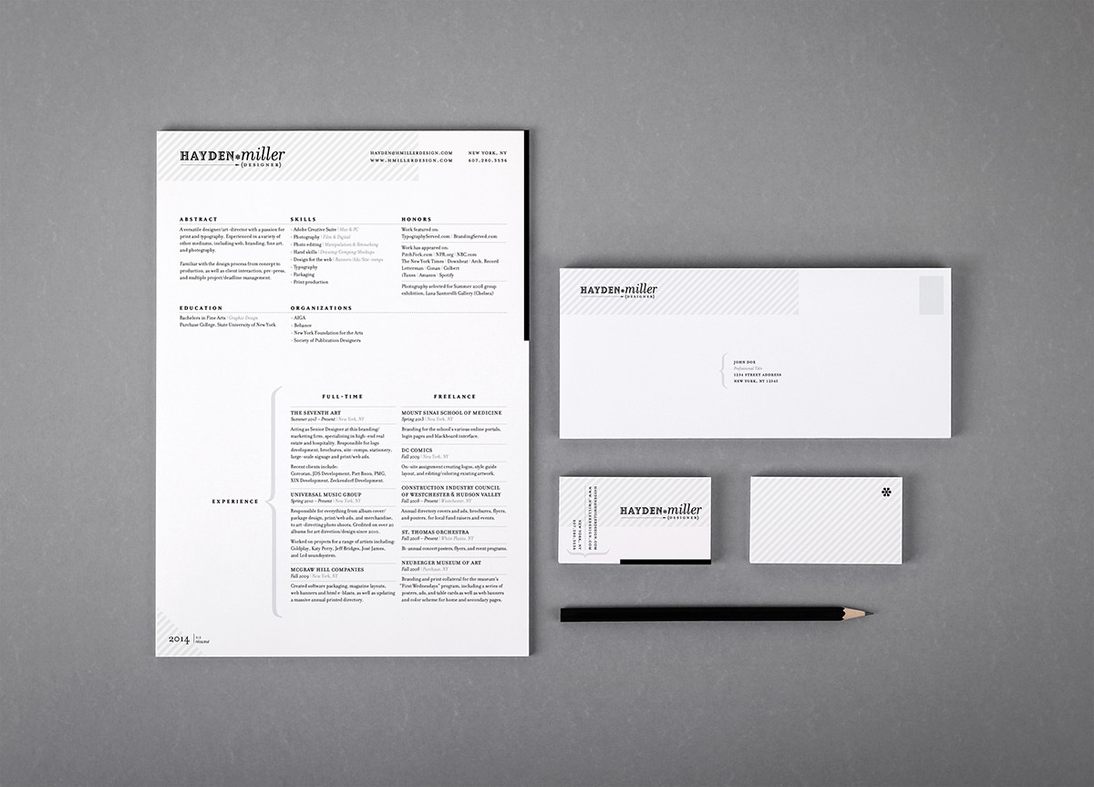 Self promotion on behance personal identity package including business card rsumletterhead and website a4 sized sheets sealed in translucent envelopes printed on a 2 color reheart Image collections