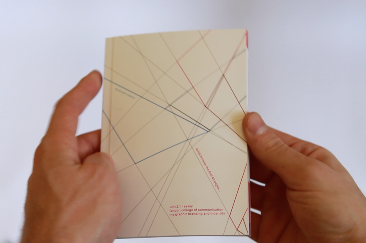 emanuele catena in the year of the olympic games in london furthermore the essay starts a flip book that composes the stripes and the colours of the project