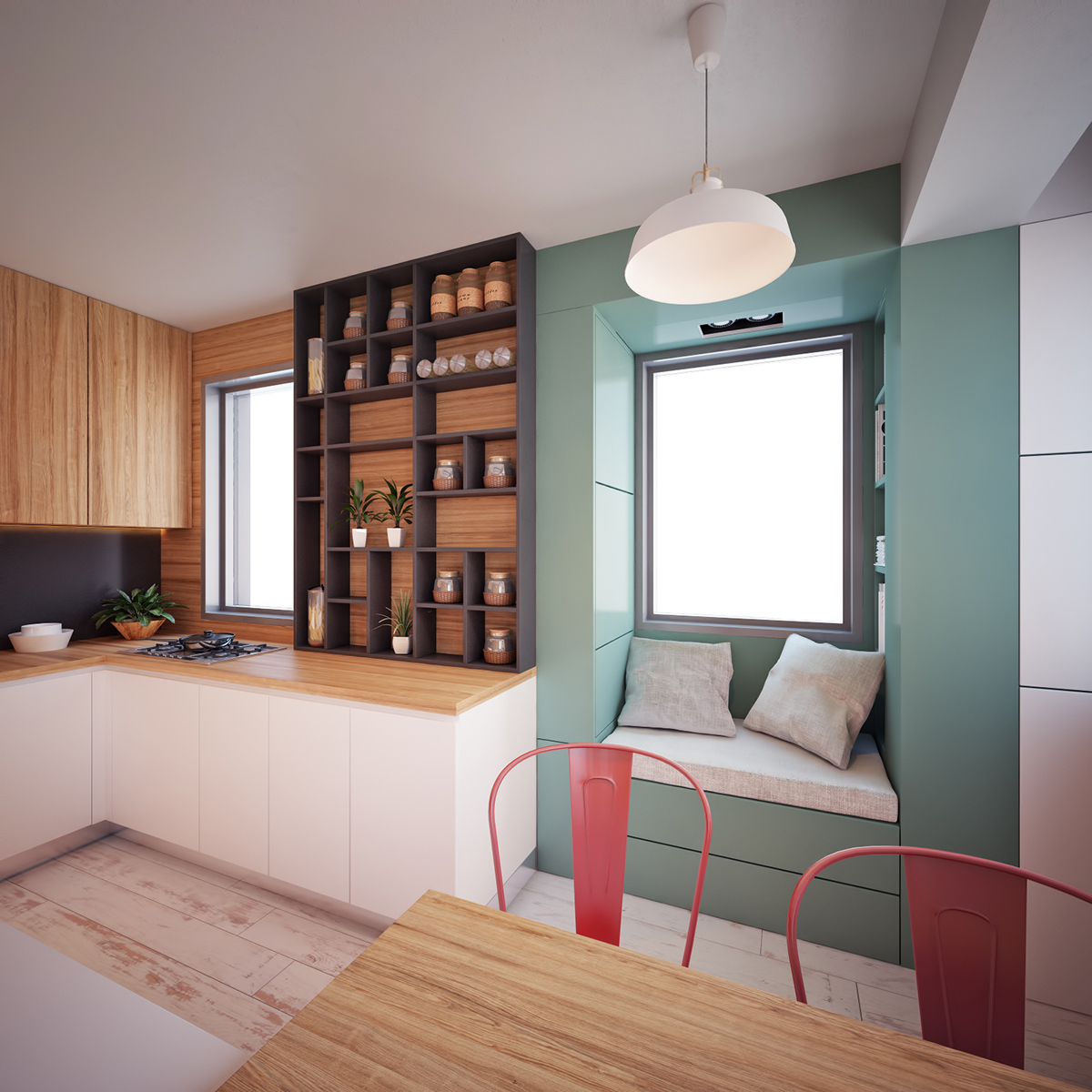 30m2 apartment on behance for 35m2 apartment design