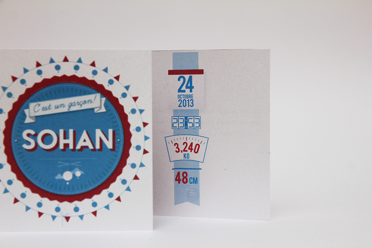 birth card carte de naissance