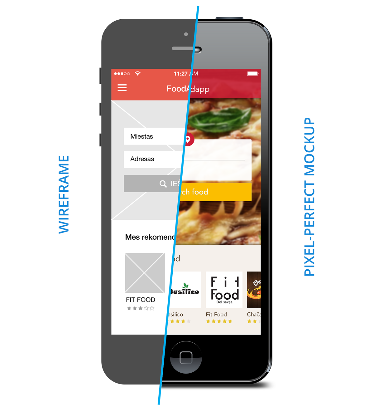 Mobile Me A Landscape Design App That Gets Personal: Mobile Food Ordering App Concept On Behance