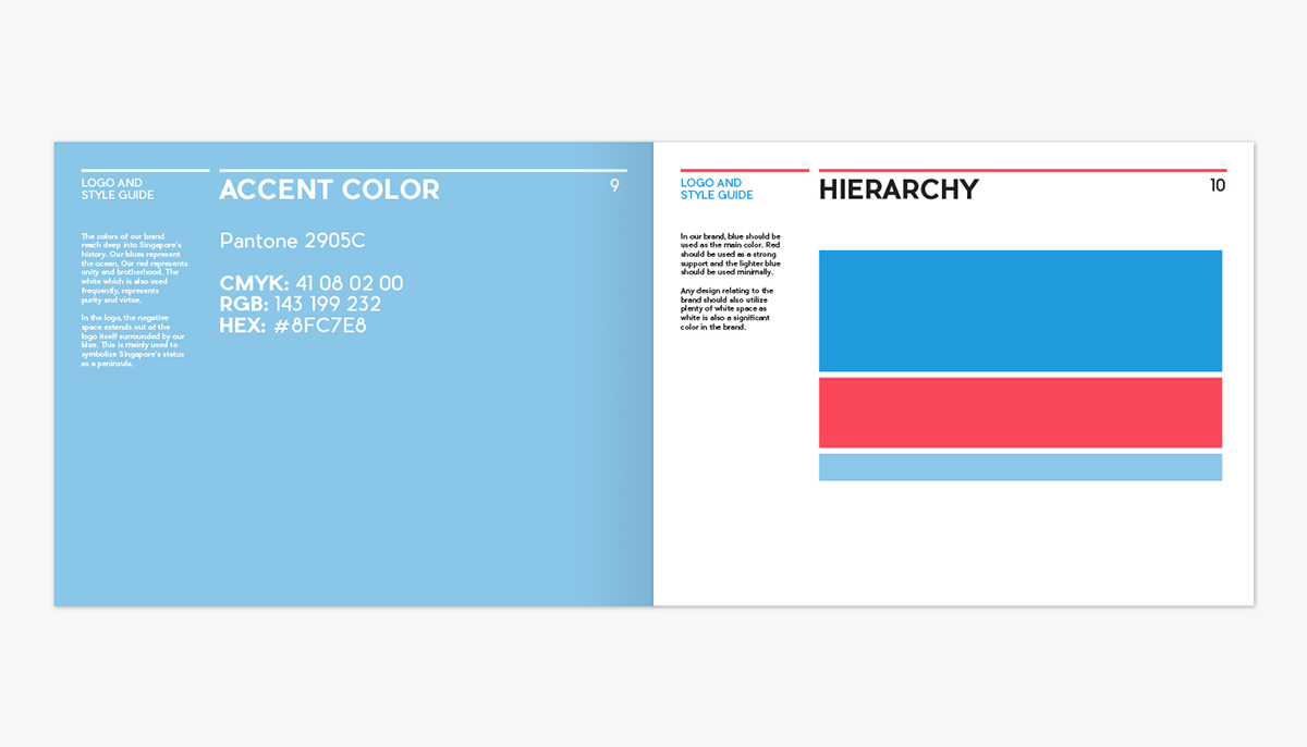 Singapore Tourism Brand Guidelines on Pantone Canvas Gallery