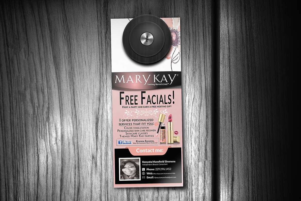 Mary Kay Door Hangers on Behance