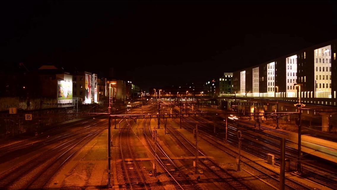 Basel night timelapse hgk viscom