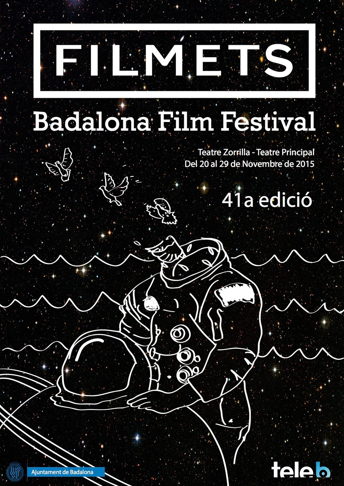 Badalona festival filmets cartel cartell cine