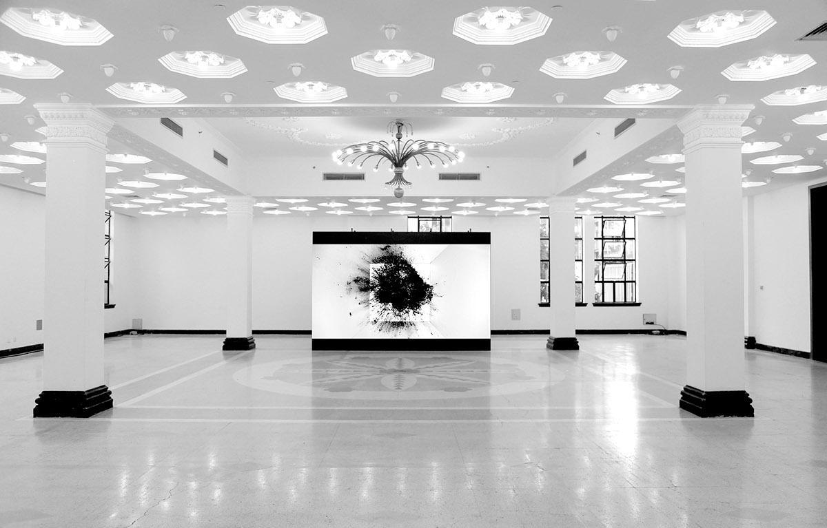 Installation Work Mind Art Video In The Gallery