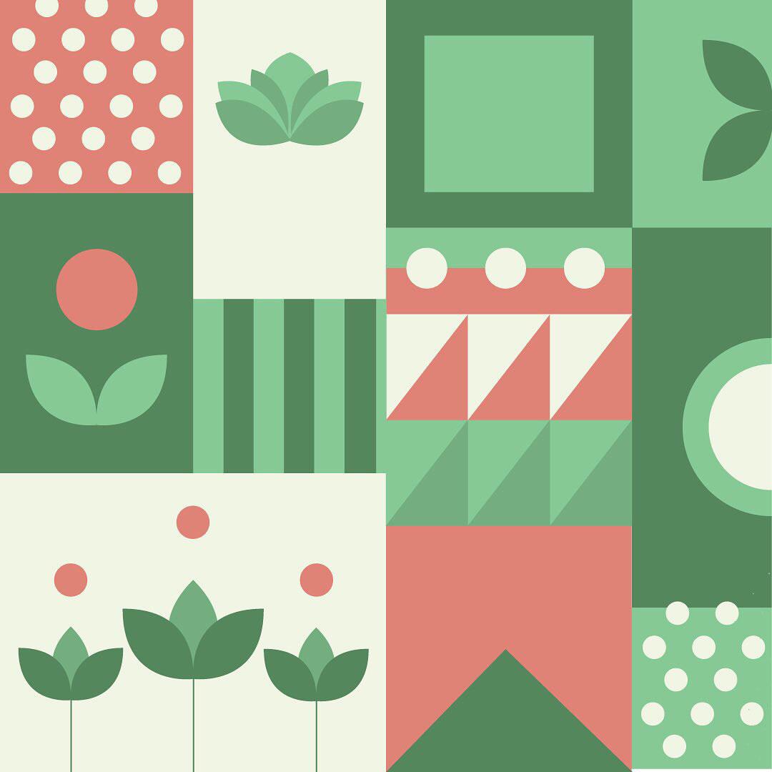 geometric graphic design  organic pattern pattern design  print Tote Bags