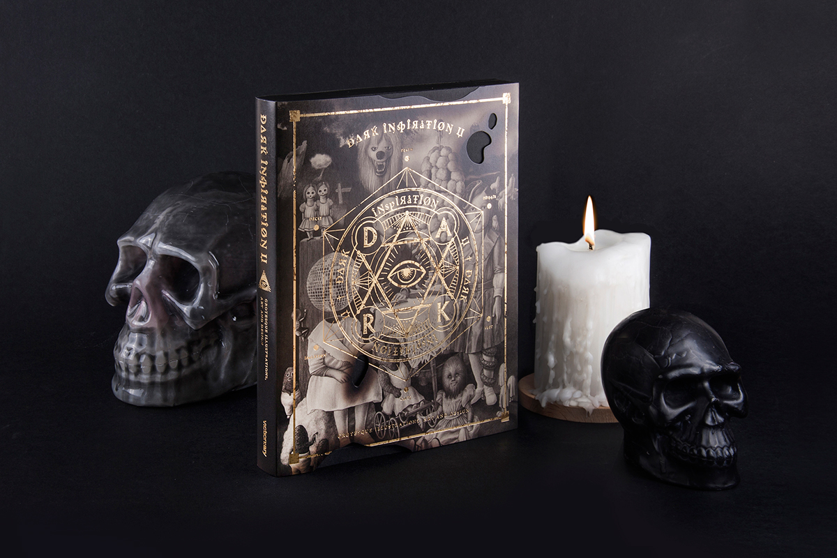 book dark black inspiration grotesque print art