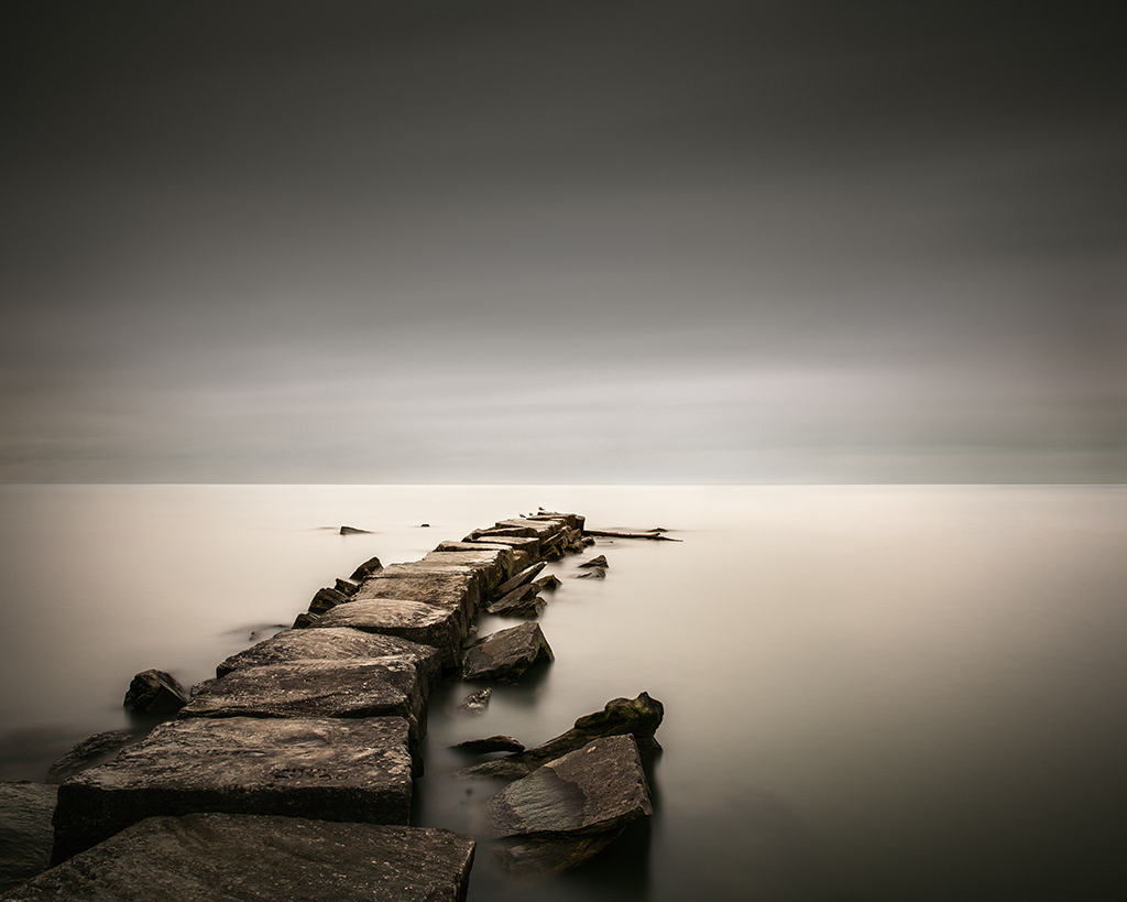 ohio erie seascape Landscape long exposure
