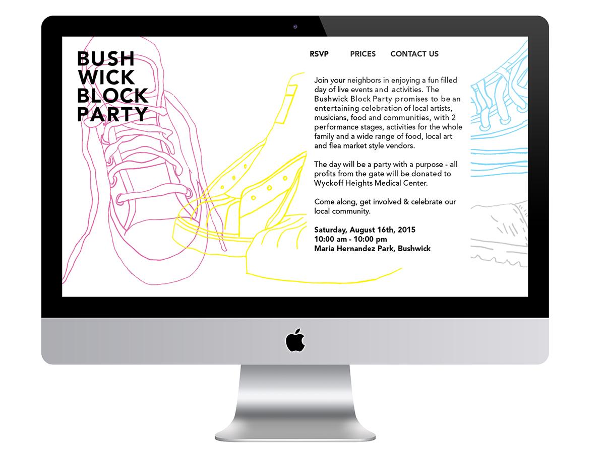 Bushwick Brooklyn Block Party adidas sneakers
