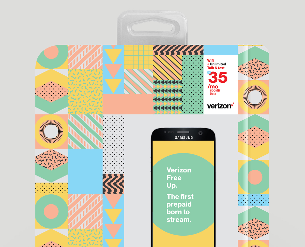 miami phone Packaging ILLUSTRATION  hype Fun Patterns