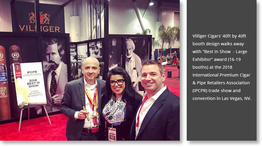 Villiger Cigars - Best In Show at IPCPR 2018 on Behance
