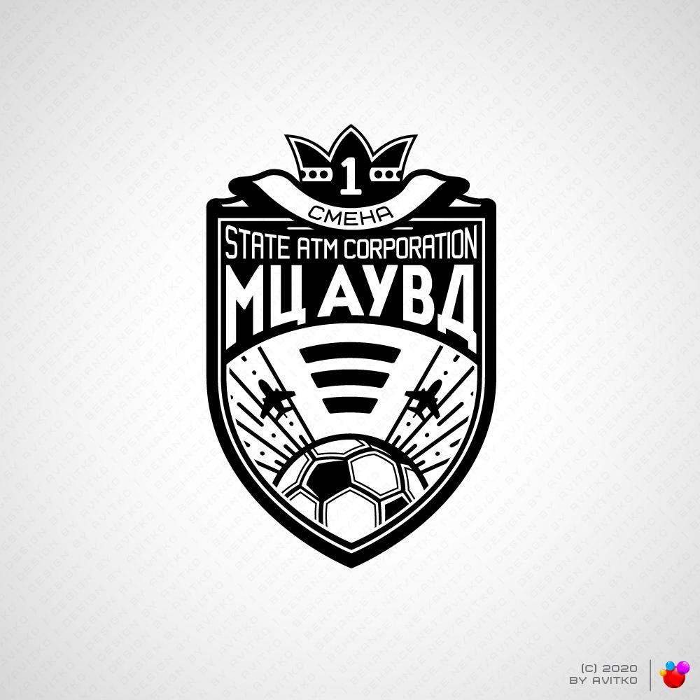 Image may contain: cartoon, logo and emblem