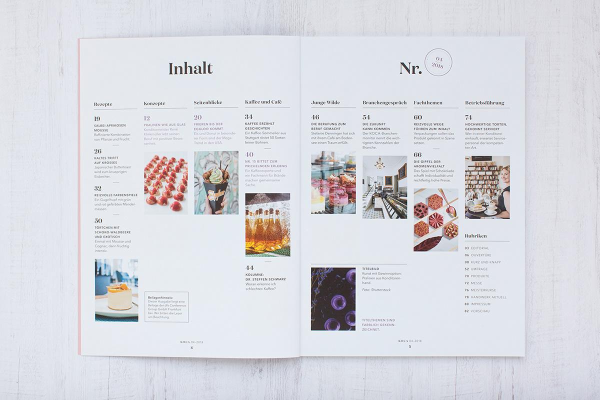Adobe Portfolio editorial design  magazin Food  graphic design