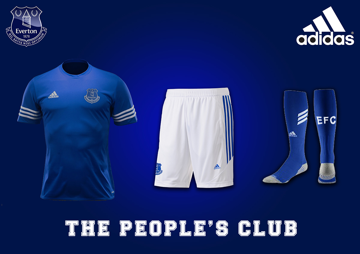 reputable site 21981 4d84f Everton Football Club - Adidas sponsor on Behance