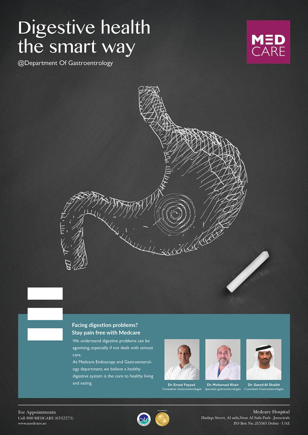 Endoscopy Department: Medcare Gastrology Department On Behance