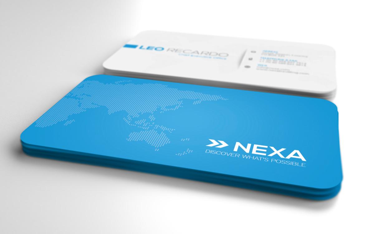 Global Business Card Ver. 2.0 on Behance