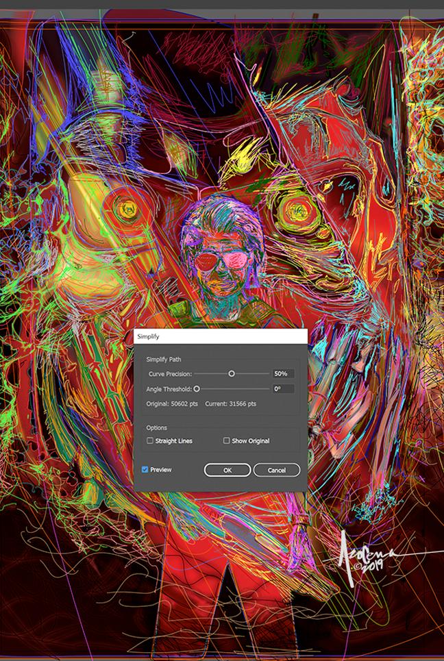 Image may contain: drawing, painting and screenshot