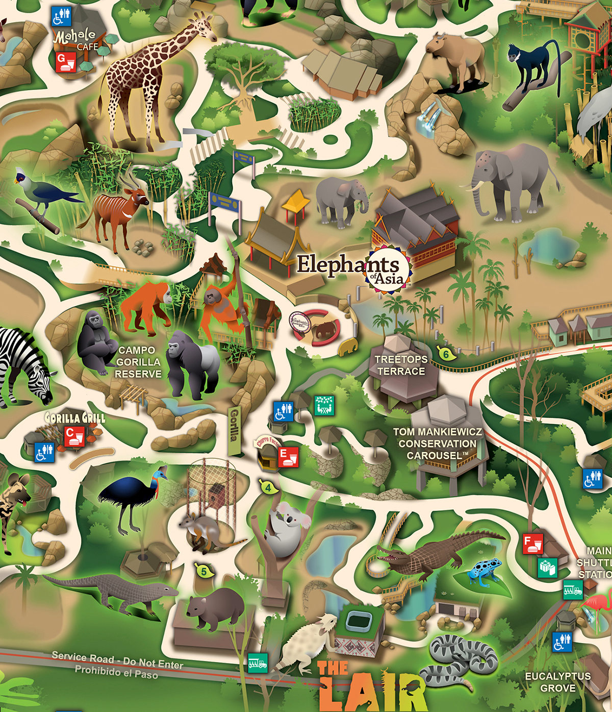 LA ZOO on Behance Los Angeles Zoo Map on african lion safari map, south los angeles map, cbs studios map, griffith park map, angels flight map, greater los angeles area map, kansas city zoo map, north los angeles county map, callejones de los angeles map, university of maryland medical center map, columbus zoo and aquarium map, six flags magic mountain map, los feliz map, la brea tar pits map, point defiance zoo & aquarium map, arizona-sonora desert museum map, los angeles fashion district map, el dorado nature center map, disneyland map, national zoo map,