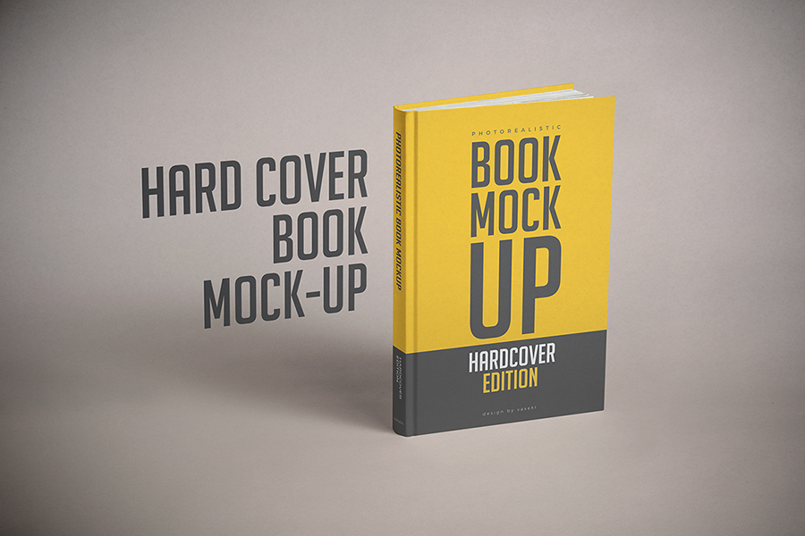 Hardcover Book Mock Up Template Psd On Behance