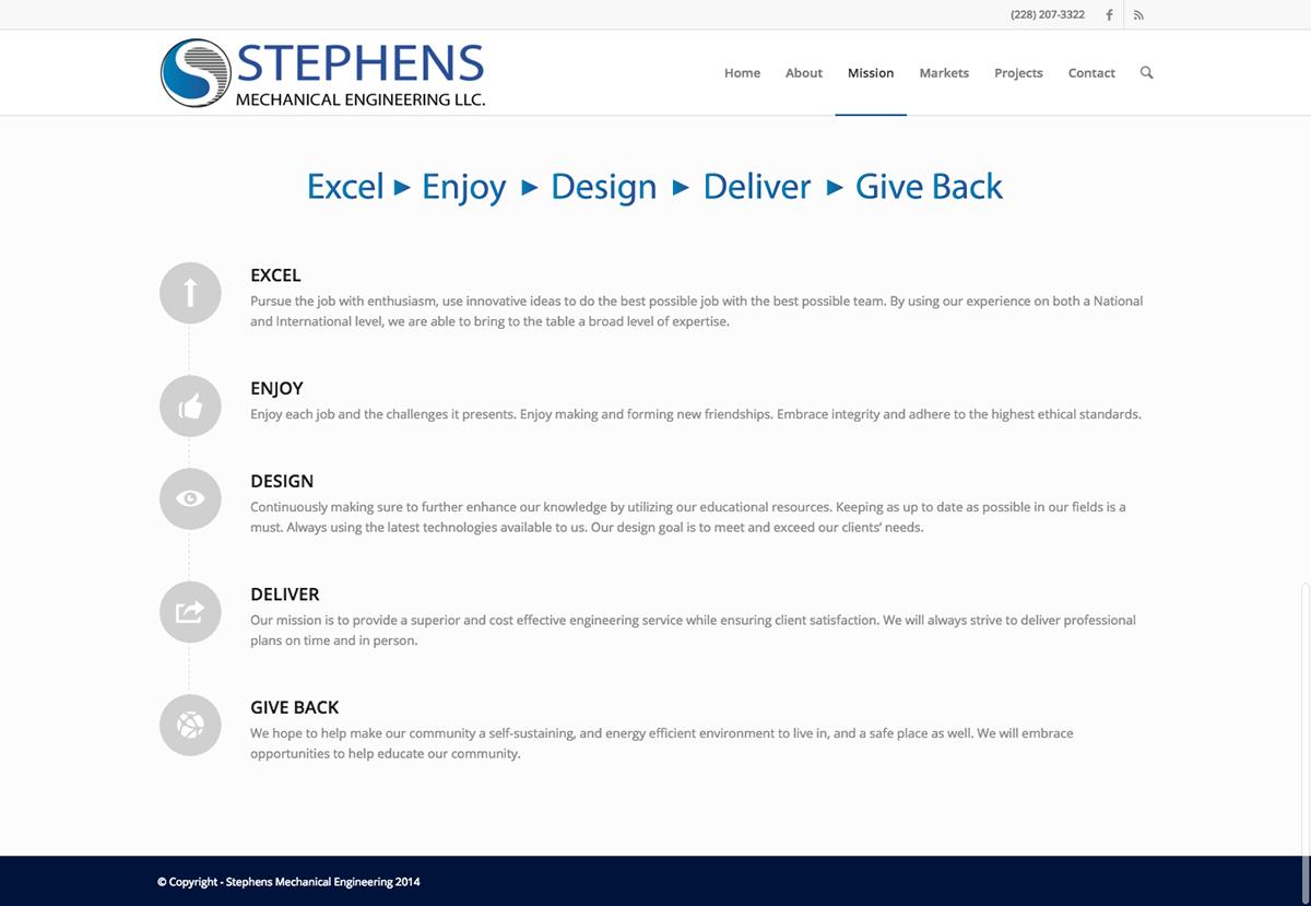 Stephens Mechanical Engineering on Behance