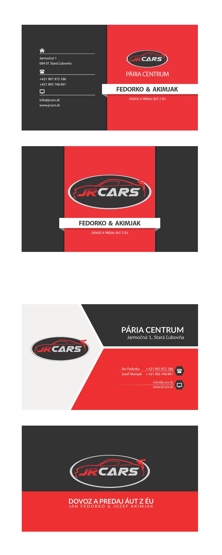 Business card for car dealer on Behance