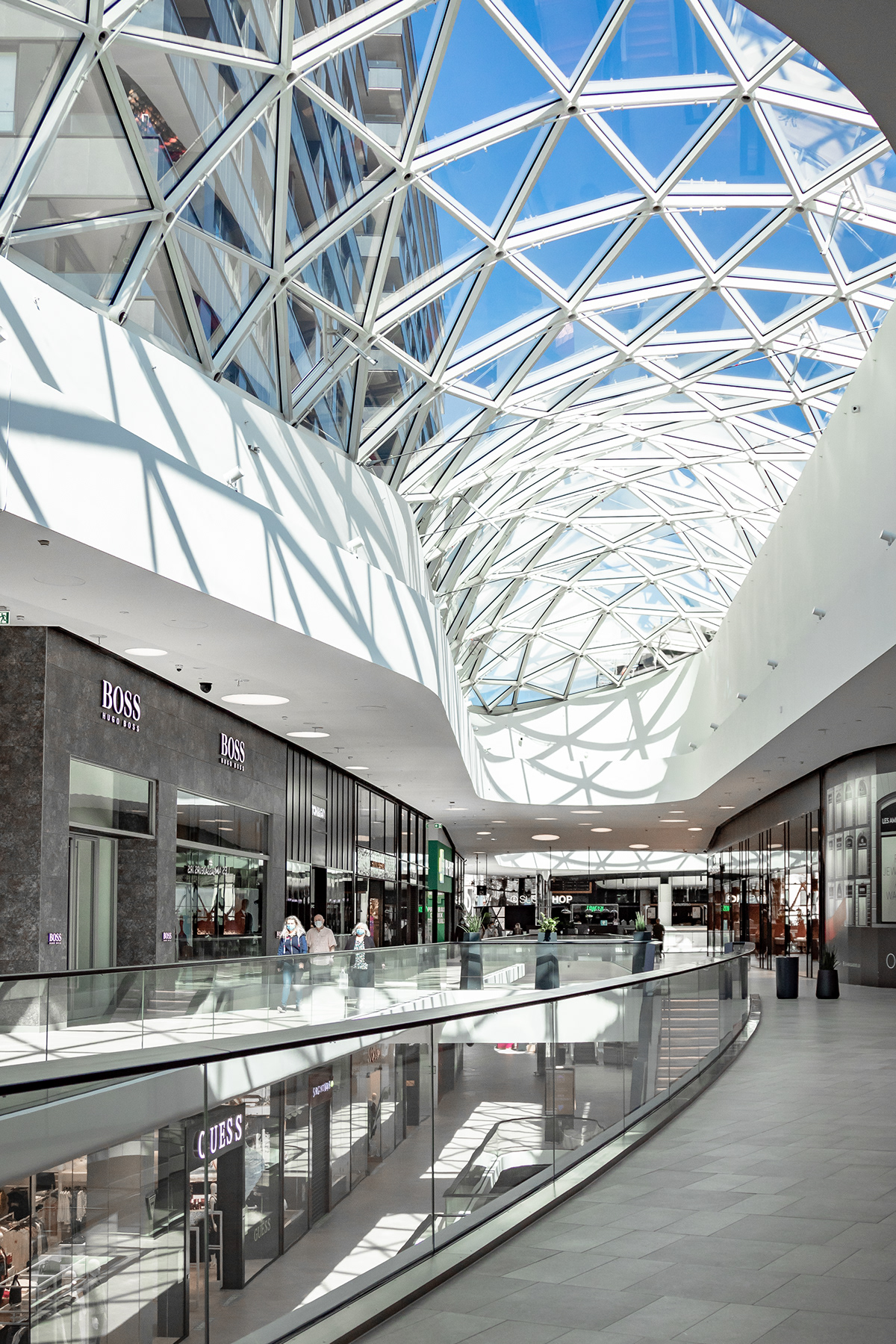 architecture luxembourg mall peoples Photography  photos Shopping shopping center