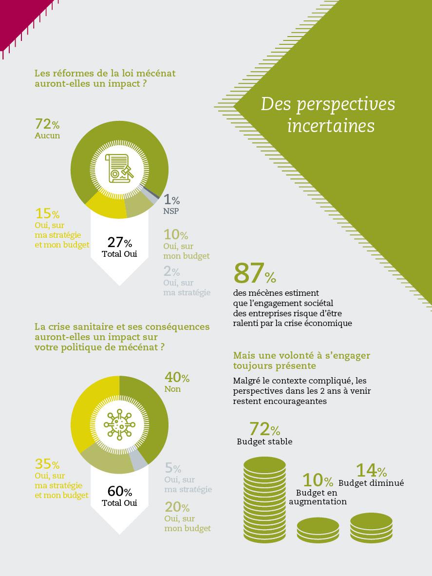 Association chiffres depliant infographic Infographie mécénat mécène pictogram pictos