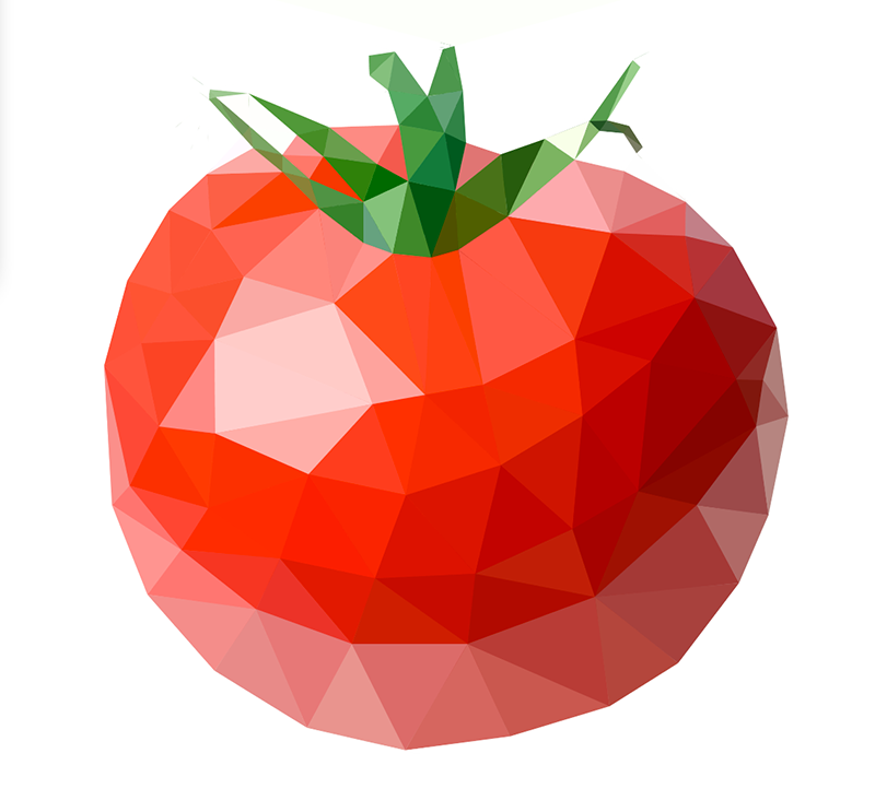 Low Poly vector Illustrator