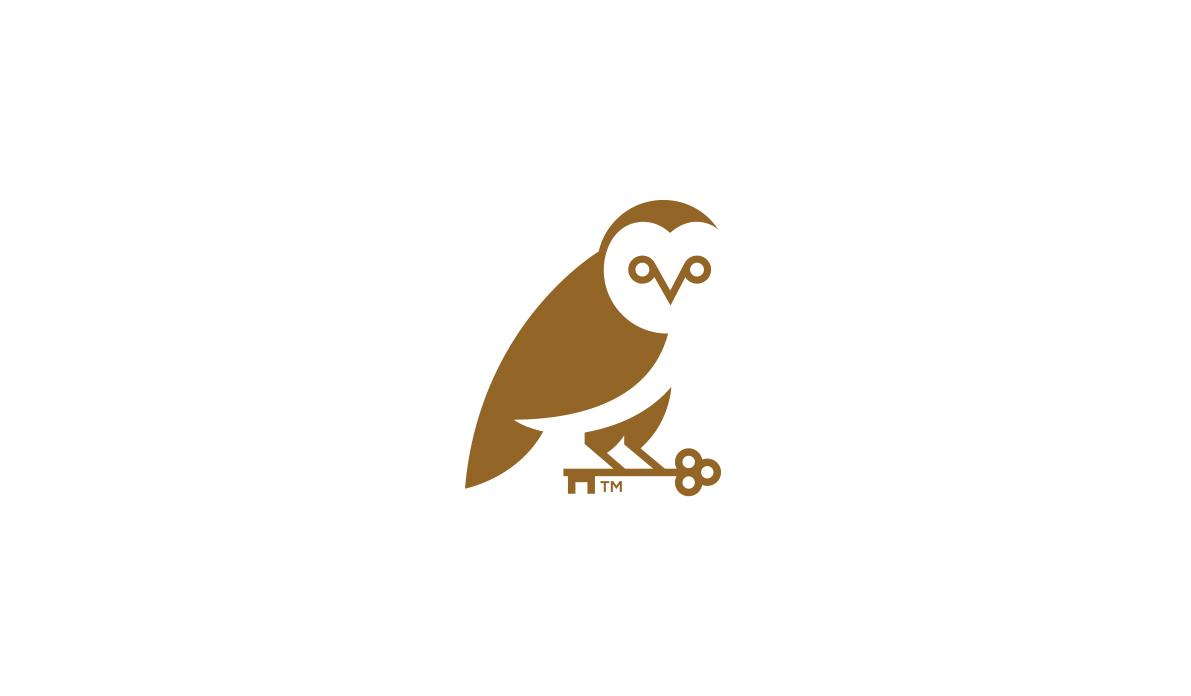 55 Beautiful Owl Logos for Design Inspiration  Modern
