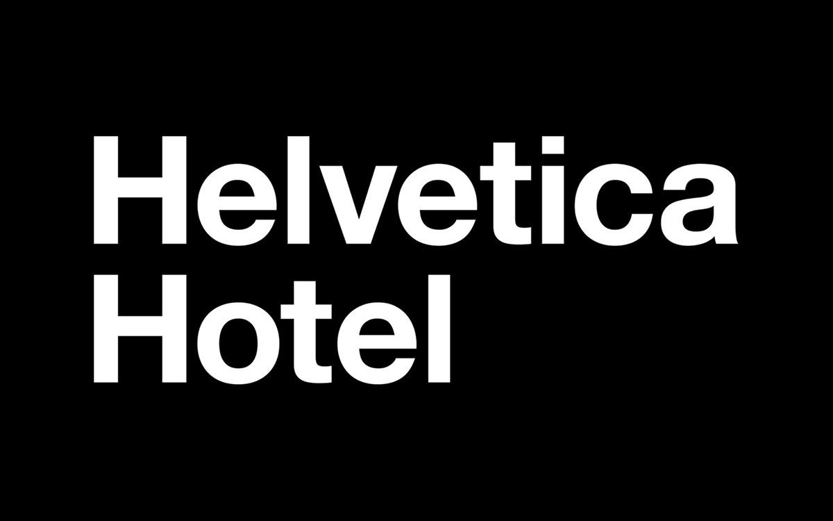 helvetica hotel motel