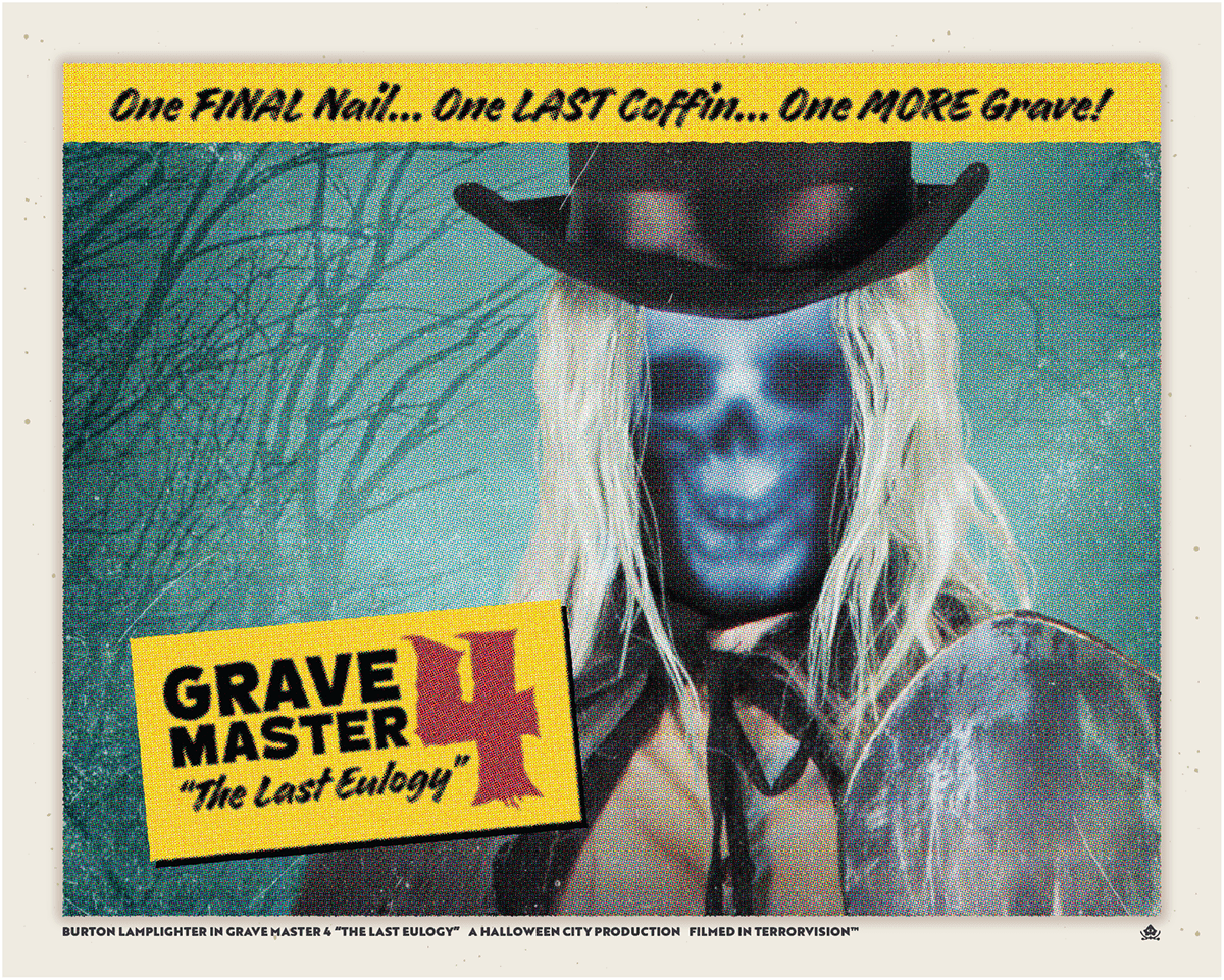 Grave Master 4 Movie Poster