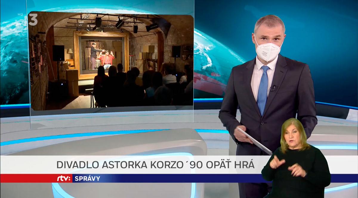astorka astorka korzo 90 Bratislava kemka poster Theatre