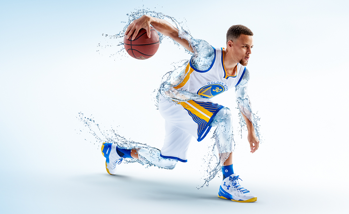 """Golden States Warriors >> Steph Curry for Brita """"Drink Amazing"""" on Behance"""