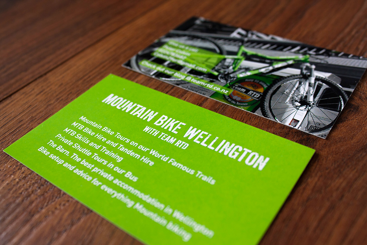 Team RTD Business Cards on Behance