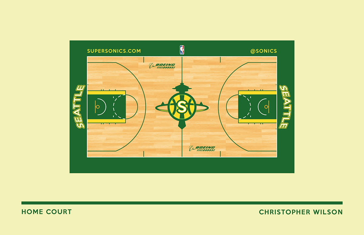 Note: This court is to be used when wearing throwback jerseys and/or the 95 Fauxback jerseys.