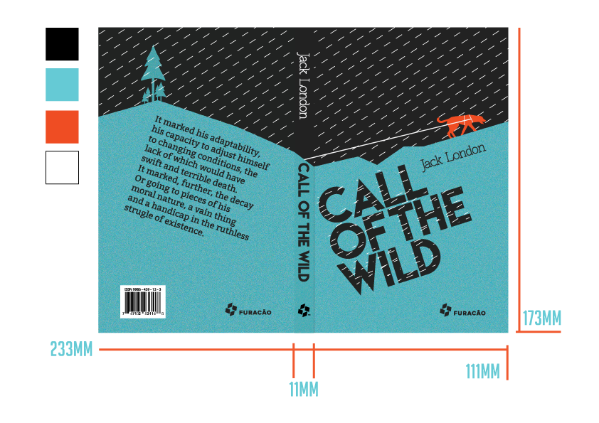 Call Of The Wild Book Rethinking Redesign On Behance