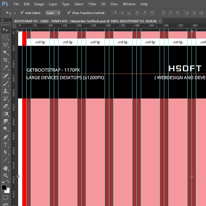Free 12 Column Bootstrap V3 0 0 Grid Pattern Psd On Behance