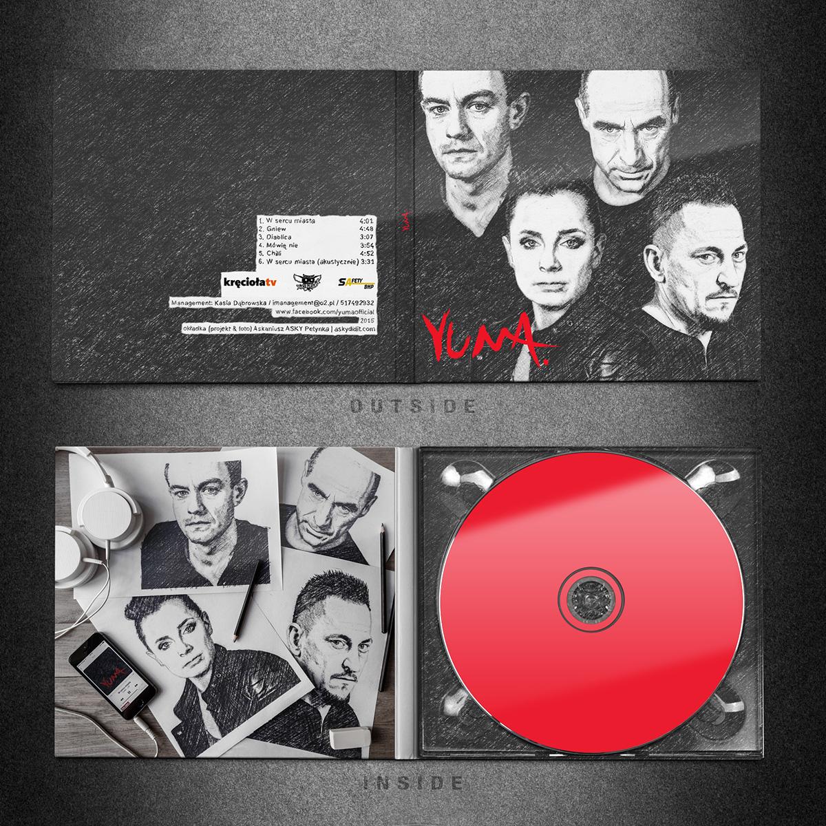 digipack cdcover print