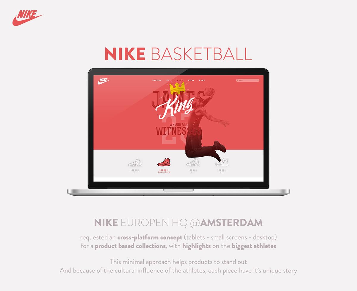 Nike Basketball LeBron James On Behance 97b74e50446383 Nike Basketball LeBron  James