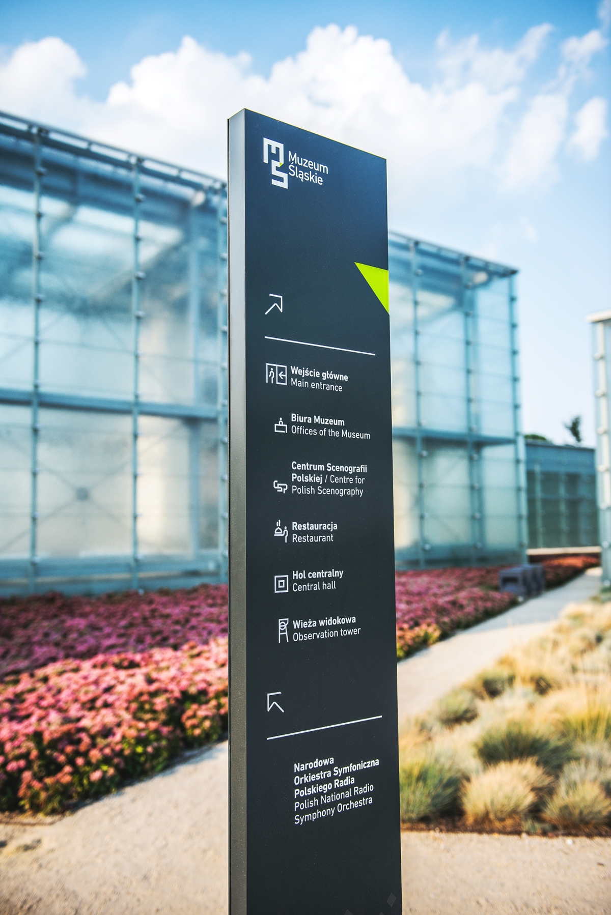 wayfinding environmental Signage signs cultural museum system sinalética public space