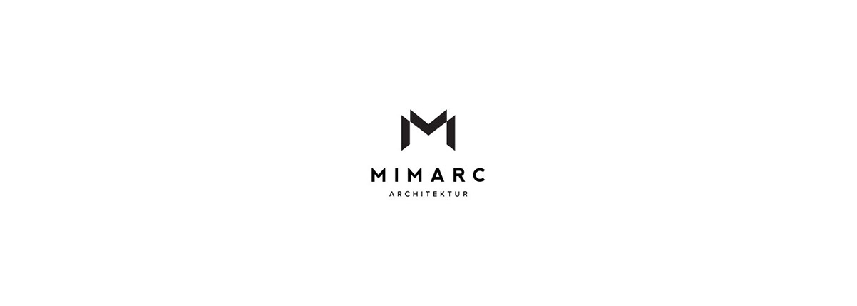 page site Responsive brand logo modern business app simple clean company corporate Layout architect estate